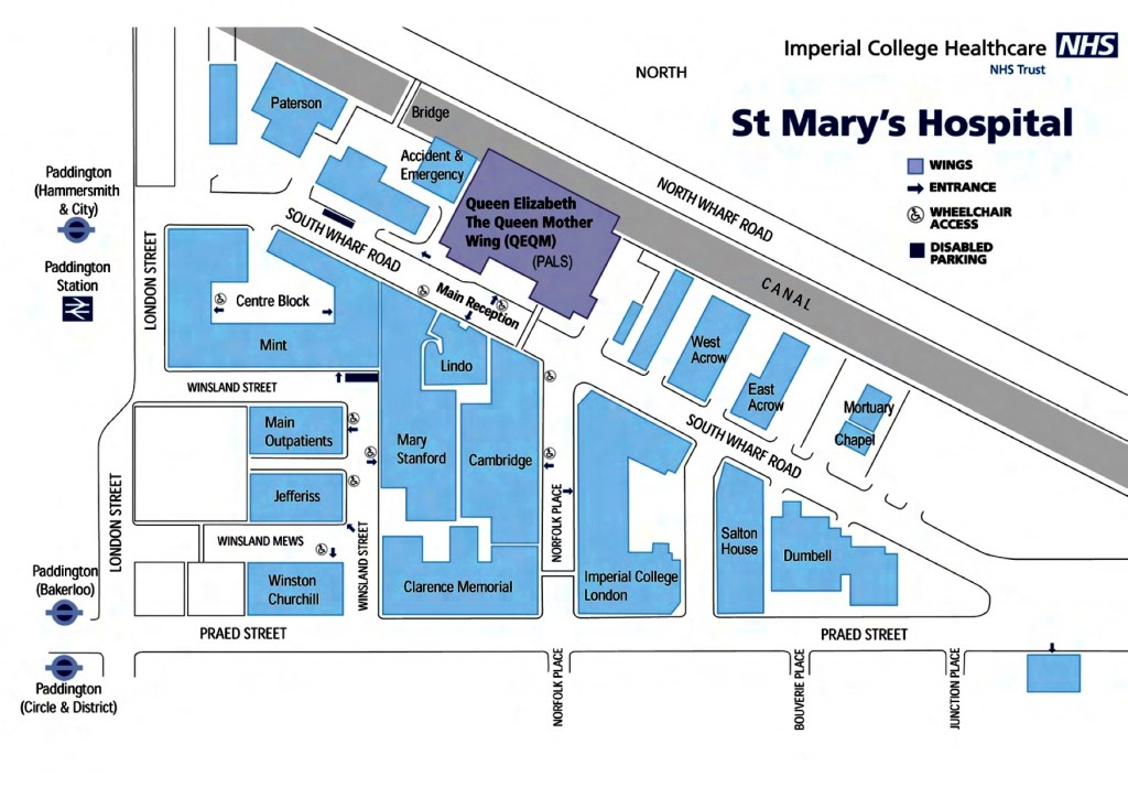 St Mary's Map PDF